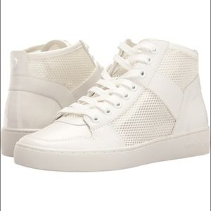 Michael Kors Matty Mesh High-top Sneakers Size 8M